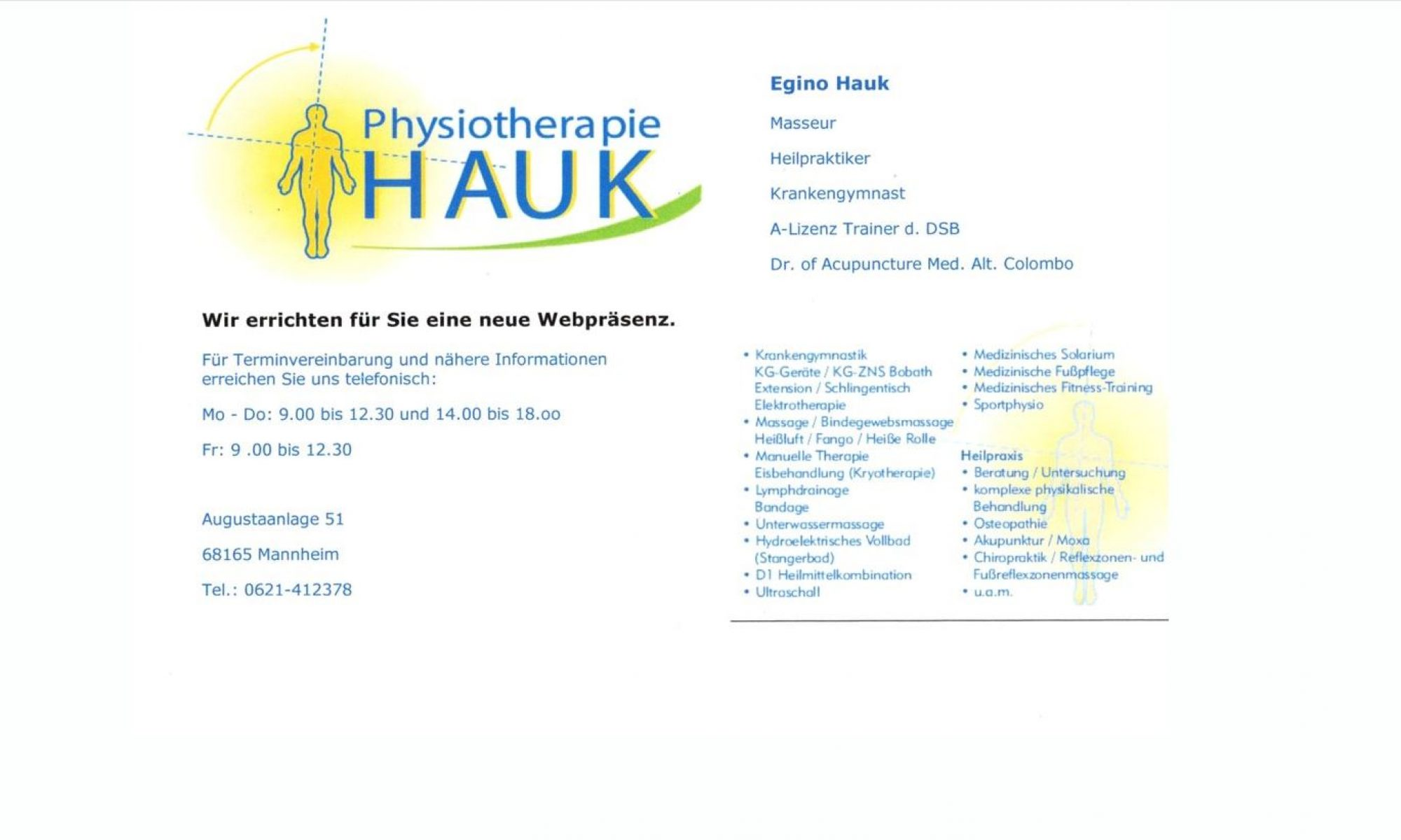 Hauk Physiotherapie